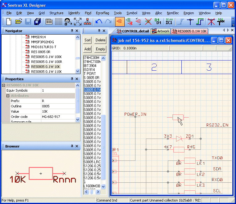 Schematic Capture | XLDesigner PCB CAD on digital electronics, logic synthesis, electronic design automation, schematic editor,